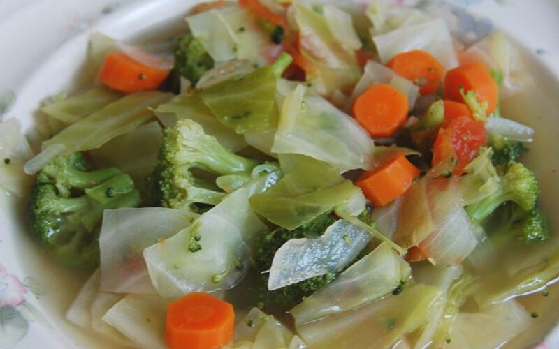 Капустный суп для капустной диеты