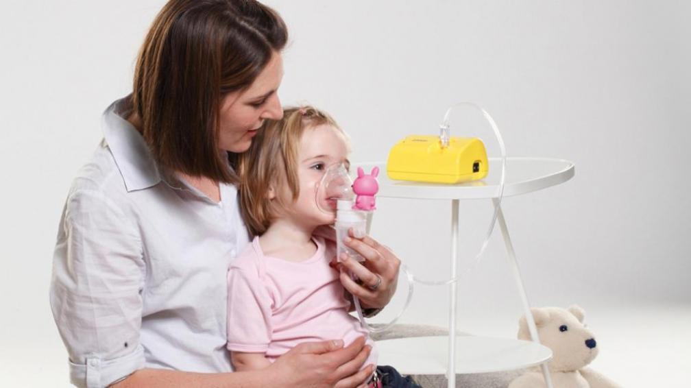 Помощь при ложном крупе у детей