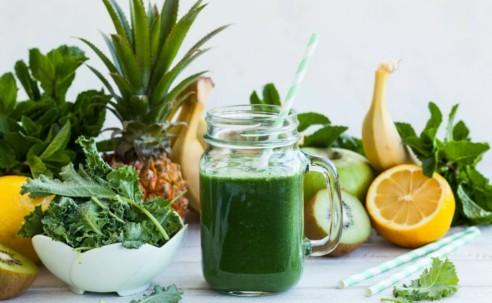 Зеленые коктейли – витаминная бомба для организма!